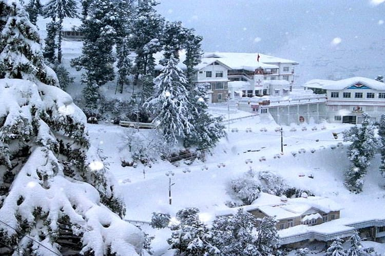 Dalhousie covered with Snow